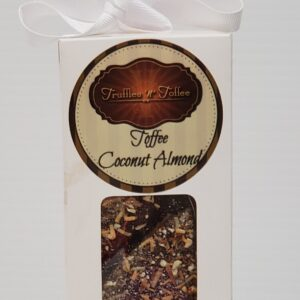Coconut Almond Toffee – 1/2 Pound Box