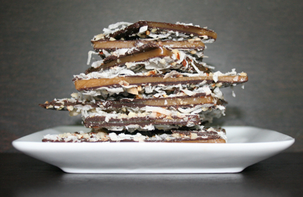 Coconut Almond Toffee